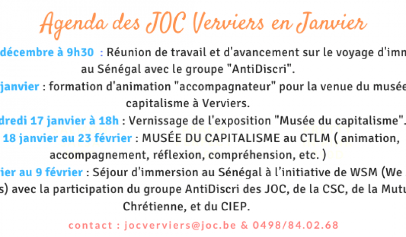 Agenda des JOC Verviers (4)